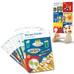 Recipe Card and Stand
