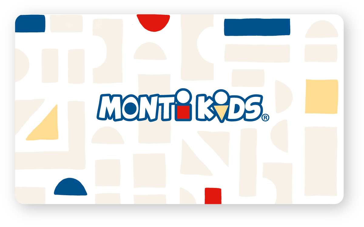 Monti Kids Gift Card - Wooden Blocks