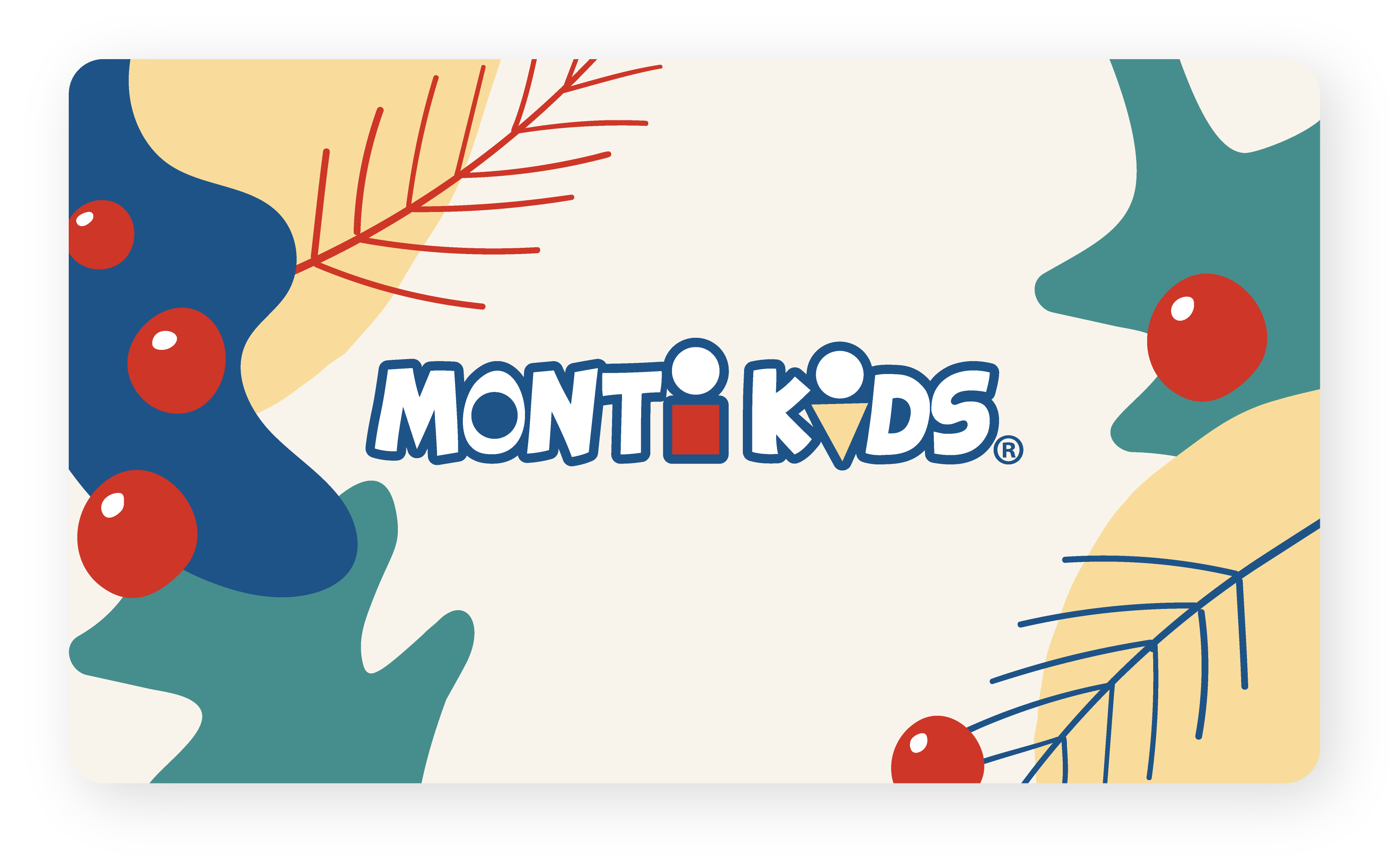 Monti Kids Gift Card Holiday - Holly Plants