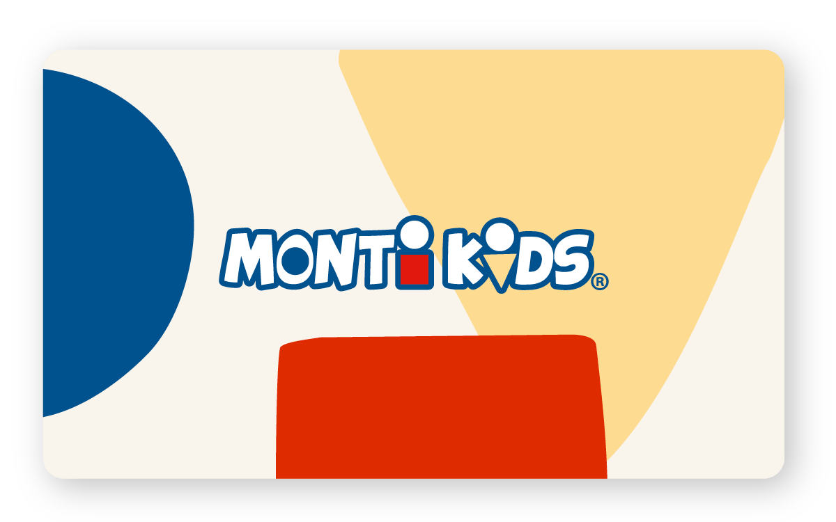 Monti Kids Gift Card - Modern Shapes