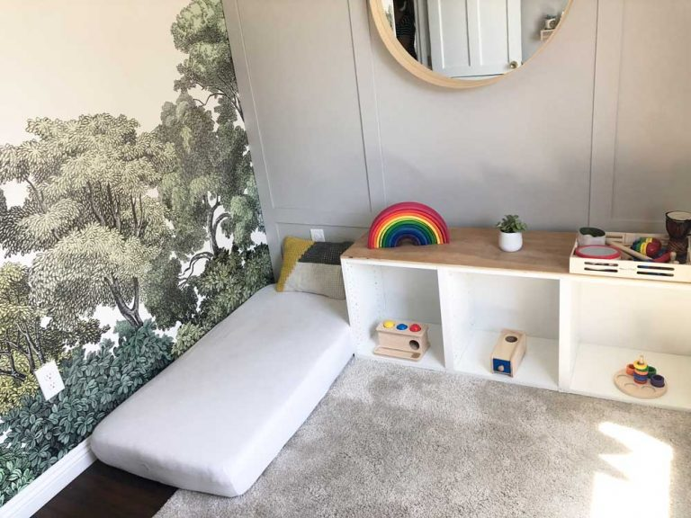 montessori kids bed