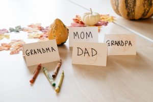 thanksgiving toddler placecards