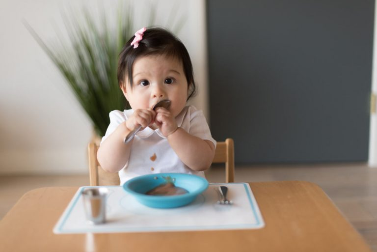 Baby's First Dining Set - with Montessori Tips