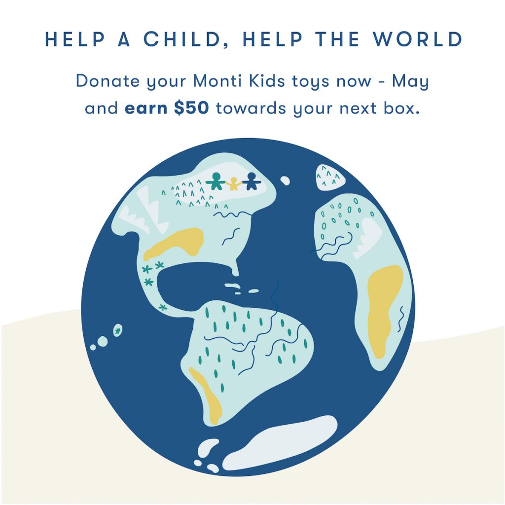 Earth Day - Help A Child, Help the World