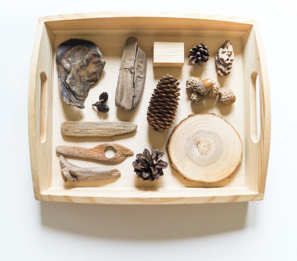 Wooden Tray for Sensory Materials